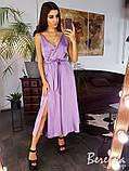 Элегантное шёлковое платье, фото 3
