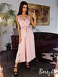 Элегантное шёлковое платье, фото 4