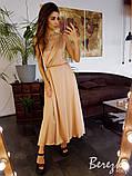 Элегантное шёлковое платье, фото 7