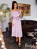Платье с открытыми плечами, фото 6
