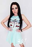 Модное красивое женское платье с принтом, фото 2