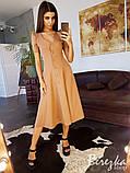 Платье-миди на пуговицах, фото 2