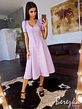 Платье-миди на пуговицах, фото 3