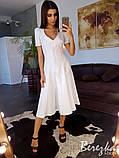 Платье-миди на пуговицах, фото 4