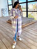 Женское удлинённое пальто рубашка, фото 2