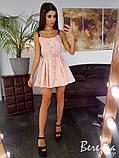 Коттоновое платье на ремешках, фото 3