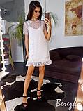 Коттоновое платье на ремешках, фото 8
