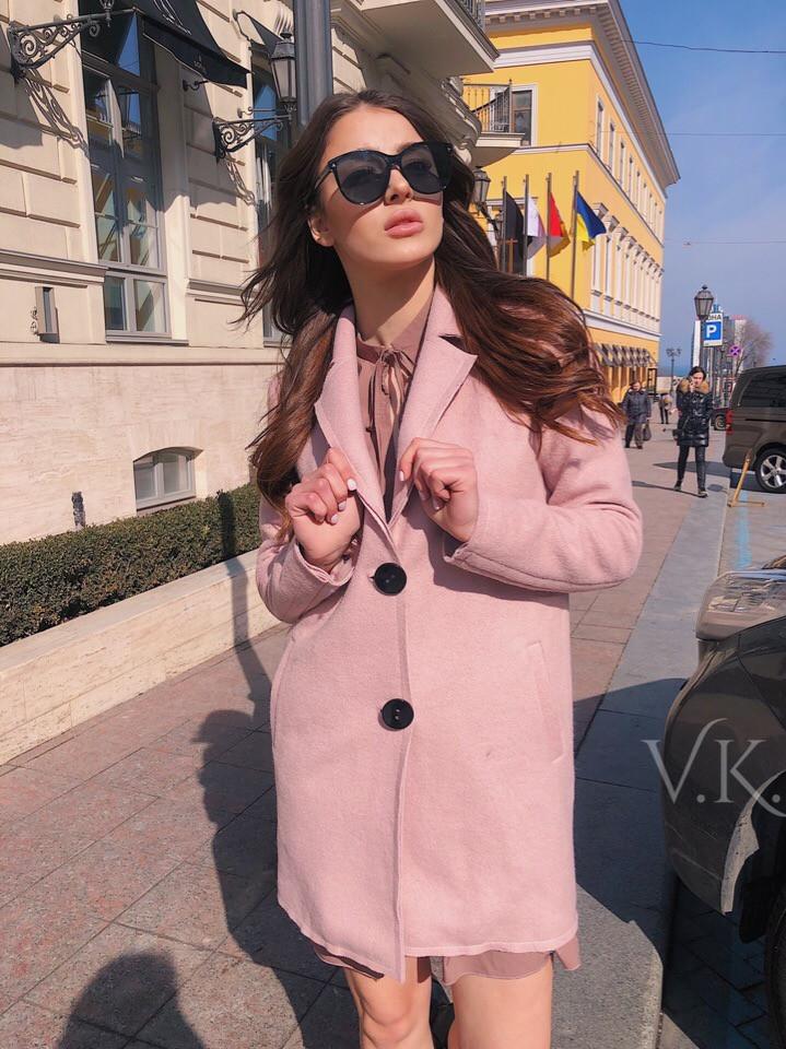 Женское кашемировое пальто П-37
