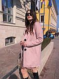 Женское кашемировое пальто П-37, фото 2