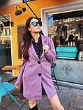 Женское кашемировое пальто П-37, фото 6