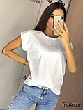 Женская базовая хлопковая футболка, фото 2