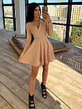 Женское Платье с идеальной посадкой, V-образный вырез, фото 2