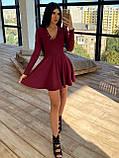 Женское Платье с идеальной посадкой, V-образный вырез, фото 3