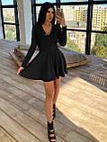 Женское Платье с идеальной посадкой, V-образный вырез, фото 5