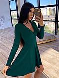 Женское Платье с идеальной посадкой, V-образный вырез, фото 7