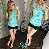Женская футболка с принтом мороженого, фото 3