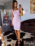 Платье по фигуре с кружевом, фото 2