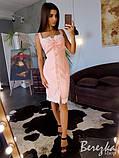 Платье по фигуре с кружевом, фото 3