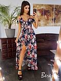 Элегантное платье с открытыми плечами, фото 4