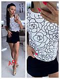Женская трендовая футболка, фото 3