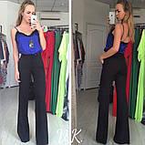 Женские брюки клеш с завышенной талией., фото 4