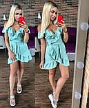 Стильное женское платье с рюшами, фото 4