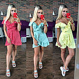 Стильное женское платье с рюшами, фото 6