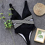 Женский цельный купальник, фото 4