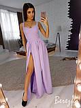Вечернее платье из креп-костюмки, фото 3