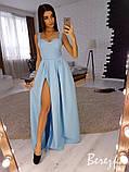Вечернее платье из креп-костюмки, фото 4