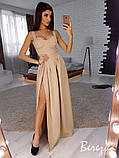 Вечернее платье из креп-костюмки, фото 6