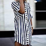 Женский нежный сарафан-рубашка на пуговицах, фото 2