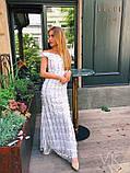 Женское невероятное красивое платье Н-524, фото 2