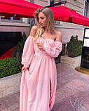 Женское невероятное красивое платье Н-501, фото 2