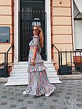 Жіночий повсякденний костюм До 154 в смужку, фото 2
