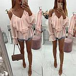 Женская модная блузка Б-53, фото 2