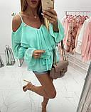 Женская модная блузка Б-53, фото 5