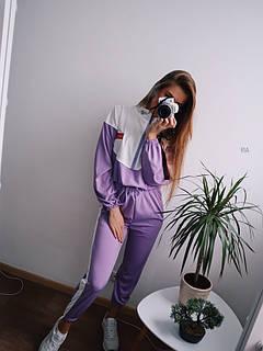 Женский прогулочный костюм из креп-дайвинга