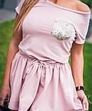 Женское летнее платье из легкого софта, фото 4
