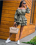 Женское летнее платье Н-529, фото 3