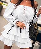 Женское летнее платье Н-529, фото 4