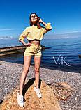 Женский роскошный  костюм с шортами К-198, фото 3