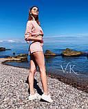 Женский роскошный  костюм с шортами К-198, фото 4