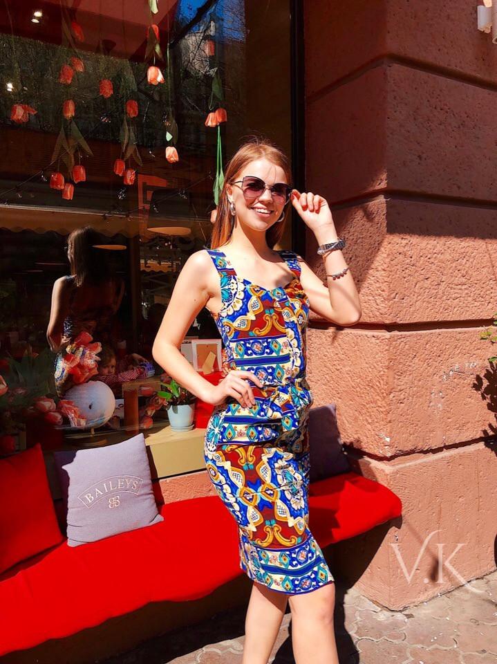 Женское летнее платье Н-518
