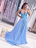 Женское красивое платье  Н-507, фото 5