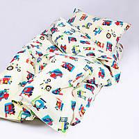Комплект постельного белья детский ранфорс 20123 красный ТМ Вилюта