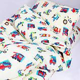 Комплект постельного белья детский ранфорс 20123 красный ТМ Вилюта, фото 2