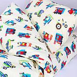 Комплект постельного белья детский ранфорс 20123 красный ТМ Вилюта, фото 3