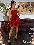 Кружевное платье с пышной юбочкой, фото 3