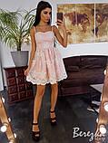 Кружевное платье с пышной юбочкой, фото 4